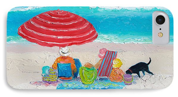 Beach Painting - One Summer IPhone Case