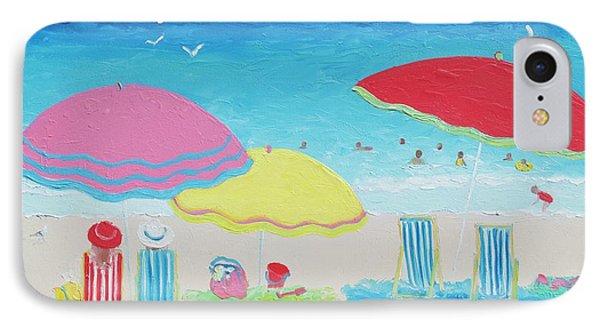 Beach Painting Summer Days IPhone Case
