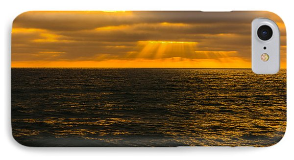 Beach Sunset Delmar/torrey Pines San Diego California Img 2 IPhone Case