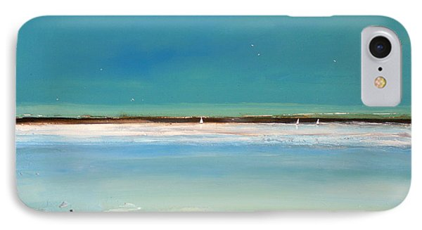 Landscape iPhone 8 Case - Beach Textures by Toni Grote