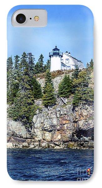 Bear Island Lighthouse IPhone Case