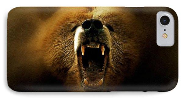 Bear Roar IPhone Case