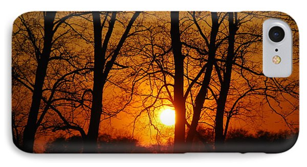 Beauatiful Red Sunset IPhone Case