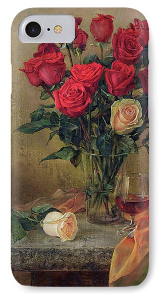 Beautiful Bouquet Of Roses IPhone Case