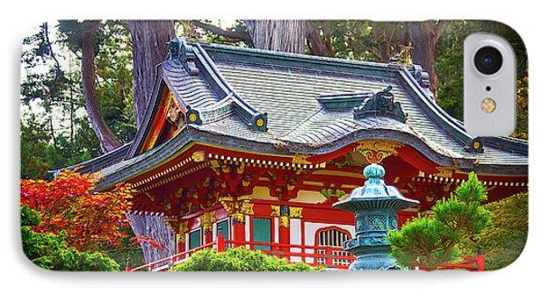 Beautiful Pogaha Golden Gate Park IPhone Case