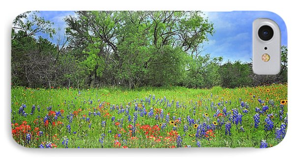 Beautiful Texas Spring IPhone Case