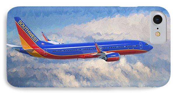 Beauty In Flight IPhone Case