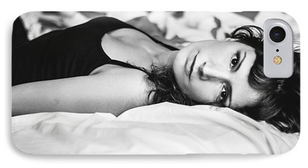 Bed Portrait IPhone Case