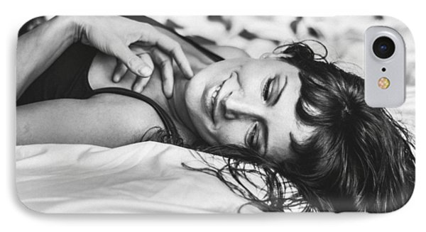 Bed Portraits IPhone Case