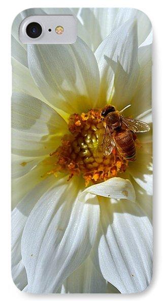 Bee Nice Dahlia  IPhone Case
