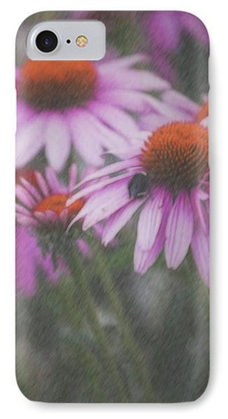 Bees Caught In A Quick Summer Shower IPhone Case