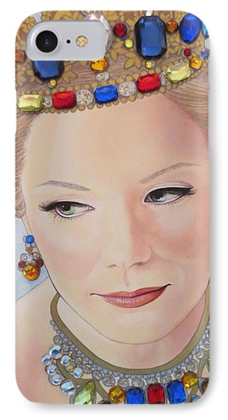 Bejeweled Beauties - Brittany IPhone Case