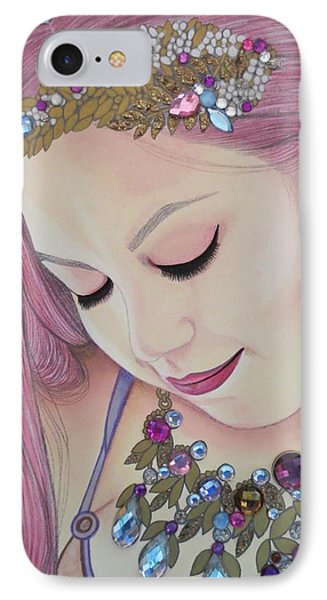 Bejeweled Beauties - Caitlin IPhone Case