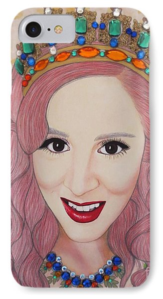 Bejeweled Beauties - Katrina IPhone Case