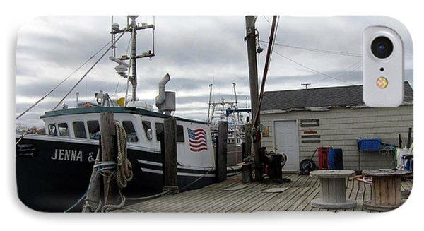 Belford Nj Fishing Port IPhone Case