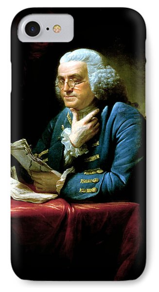 American iPhone 8 Case - Ben Franklin by War Is Hell Store