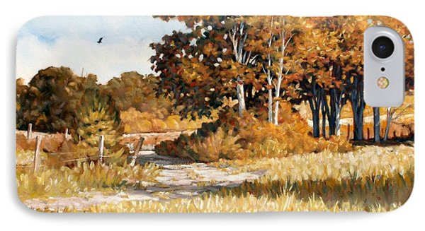 Bend In The Road IPhone Case
