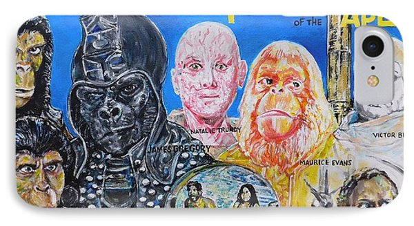 Beneath The Planet Of The Apes - 1970 Lobby Card That Never Was IPhone Case
