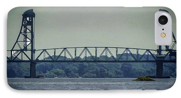 Benjamin Harrison Memorial Draw Bridge IPhone Case