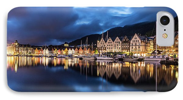 Bergen Harbor IPhone Case