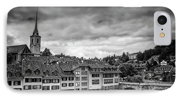 Bern Switzerland In Black And White  IPhone Case