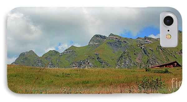 Bernese Alps Switzerland Mountain Landscape IPhone Case