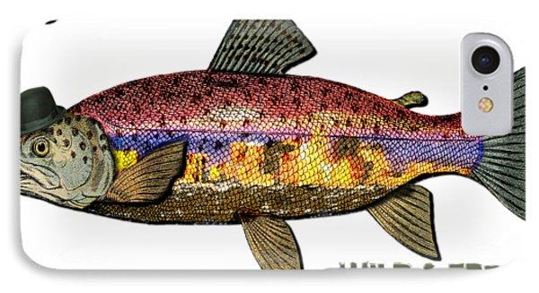 Fishing - Best Caught Wild On Light IPhone Case