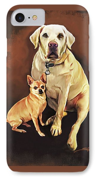 Best Friends By Spano IPhone Case