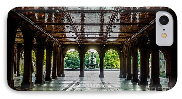 Bethesda Terrace Arcade 2 IPhone Case