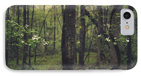 Between The Dogwoods IPhone Case