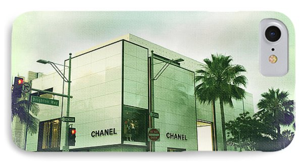 Beverly Hills Rodeo Drive 13 IPhone Case