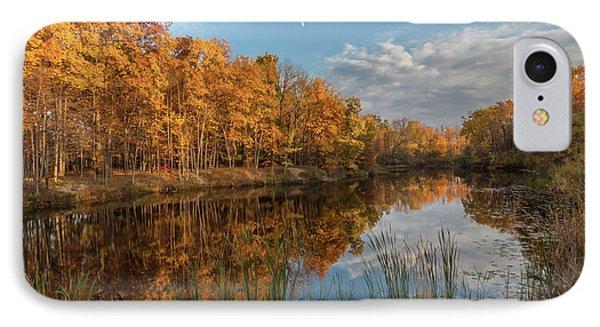 Beyer's Pond In Autumn IPhone Case