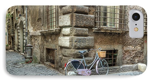 Bicycle In Rome IPhone Case