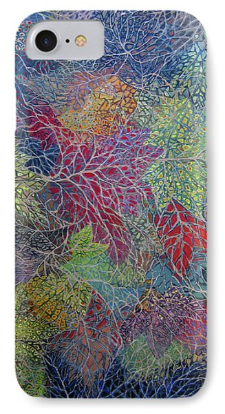 Big Leaf Maple Abstract IPhone Case