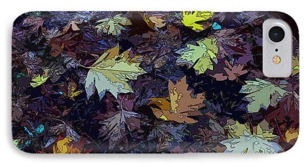 Big-leaf Maple Leaves IPhone Case