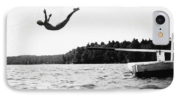 Big Pond Swan Dive IPhone Case