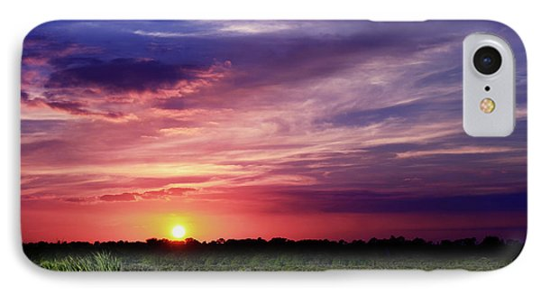 Big Texas Sky IPhone Case