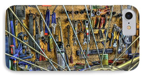 Bike Repair Shop IPhone Case
