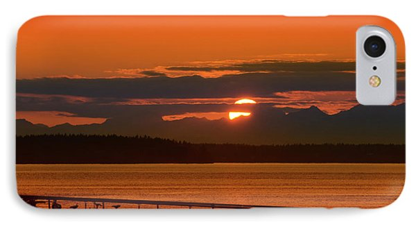 Bike Sunset IPhone Case