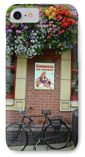 Bikes And Guinness IPhone Case