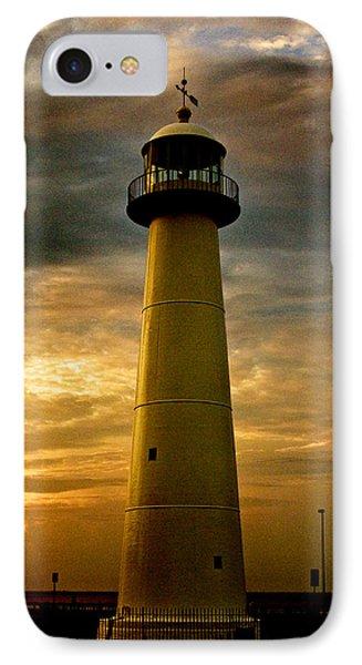 Biloxi Lighthouse - Sunrise IPhone Case