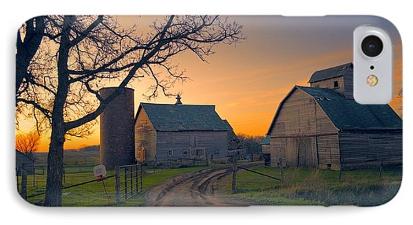 Birch Barn 2 IPhone Case