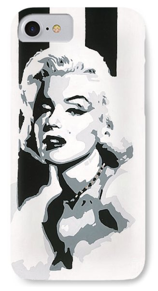 Black And White Marilyn IPhone Case