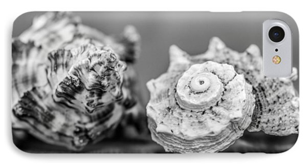 Black And White Shell Couple IPhone Case