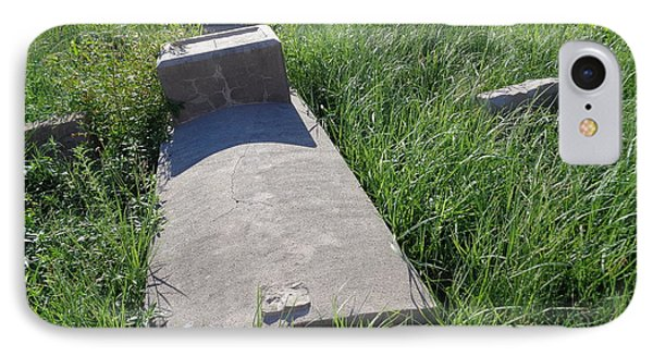 Black Cemetary Grave, Galveston IPhone Case