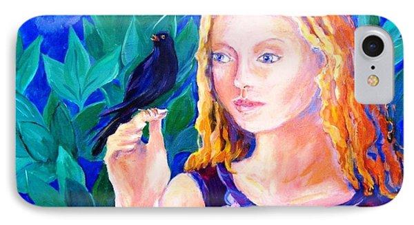 Blackbird Singing In The Dead Of Night  IPhone Case