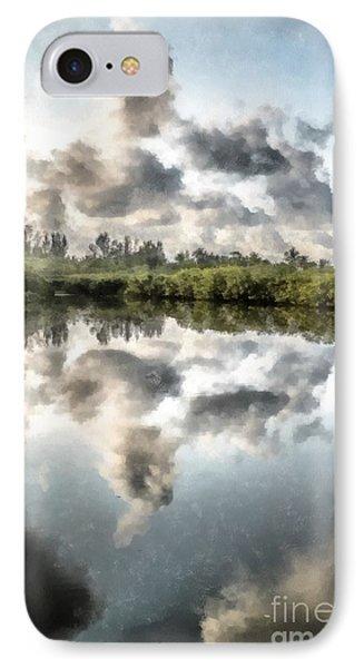 Blind Pass Bayou Sanibel Island Florida IPhone Case