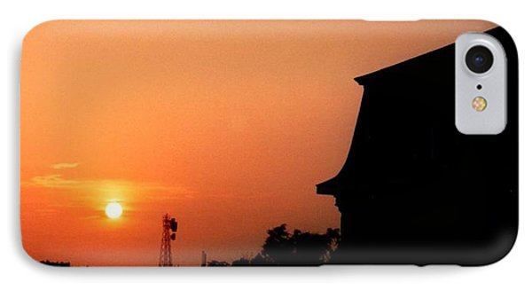 Block Island Sunset IPhone Case