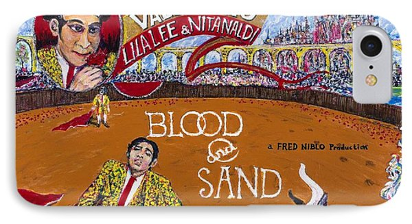 Blood And Sand - 1922 Lobby Card That Never Was IPhone Case