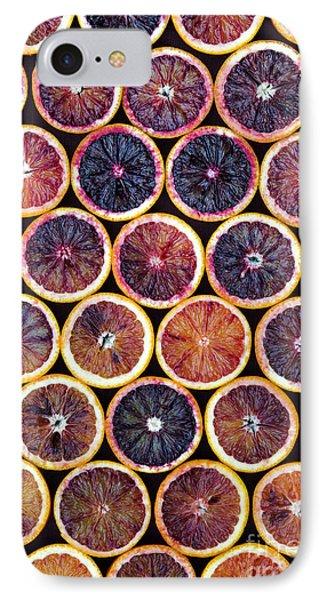 Blood Oranges Pattern IPhone Case